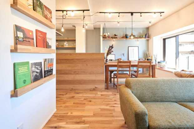【越谷市】くつろぎのカフェスペース